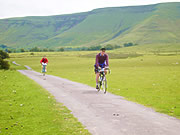 Cycling in the Black Mountains, Wales
