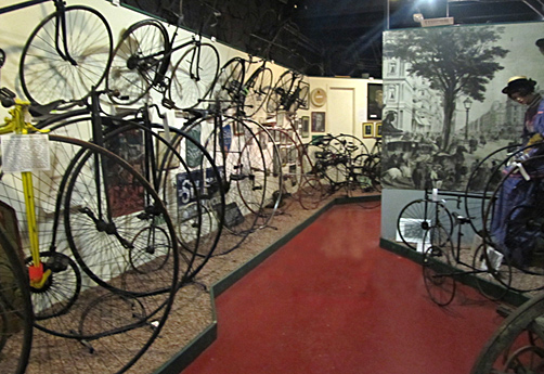 National Cycle Museum, Llandrindod Wells, Mid Wales