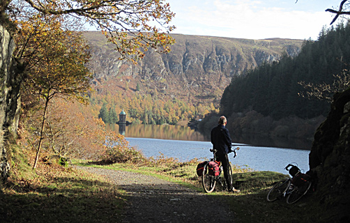 Pen y Garreg Reservoir Elan Valley, Mid Wales