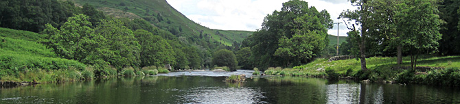 Image of River Wye in Mid Wales