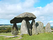 Pentre Ifan, in north Pembrokeshire