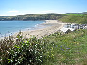 Aberdaron on the end of the Lleyn Peninsular