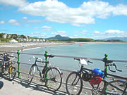 Bicycles in Criccieth