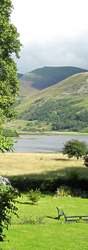 Nantlle Valley in North Wales