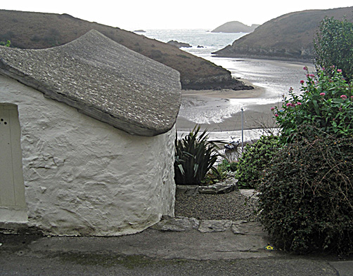 Solva harbour in the Pembrokeshire Coast National Park