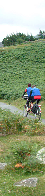 Tandem in North Wales