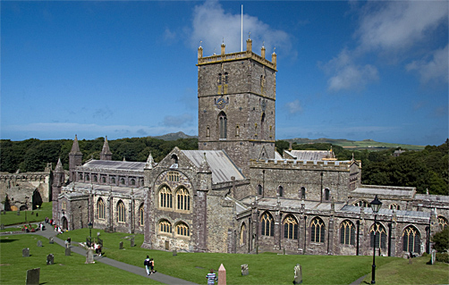 Cathedral, St David's, Pembrokeshire