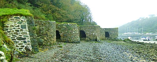 Lime kilns at Solva, Pembrokeshire