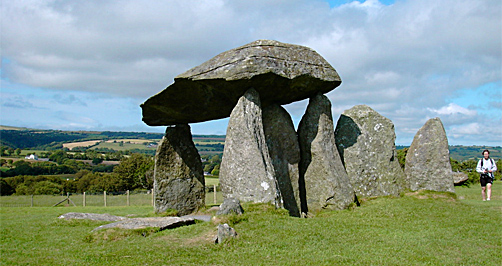 Pentre Ifan burial chamber, Pembrokeshire