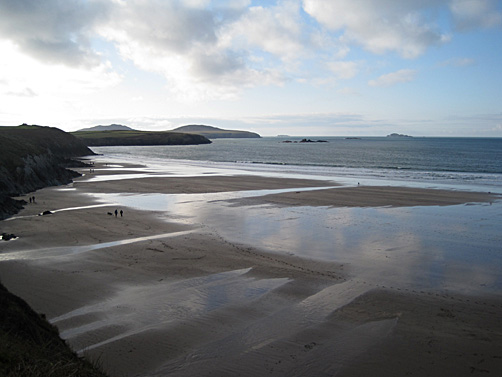 Whitesands Bay near St David's, Pembrokeshire